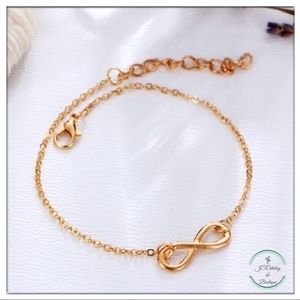 🌸3 FOR $15🌸 Infinity Alloy Chain Anklet